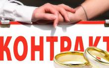 Условия признания брачного договора