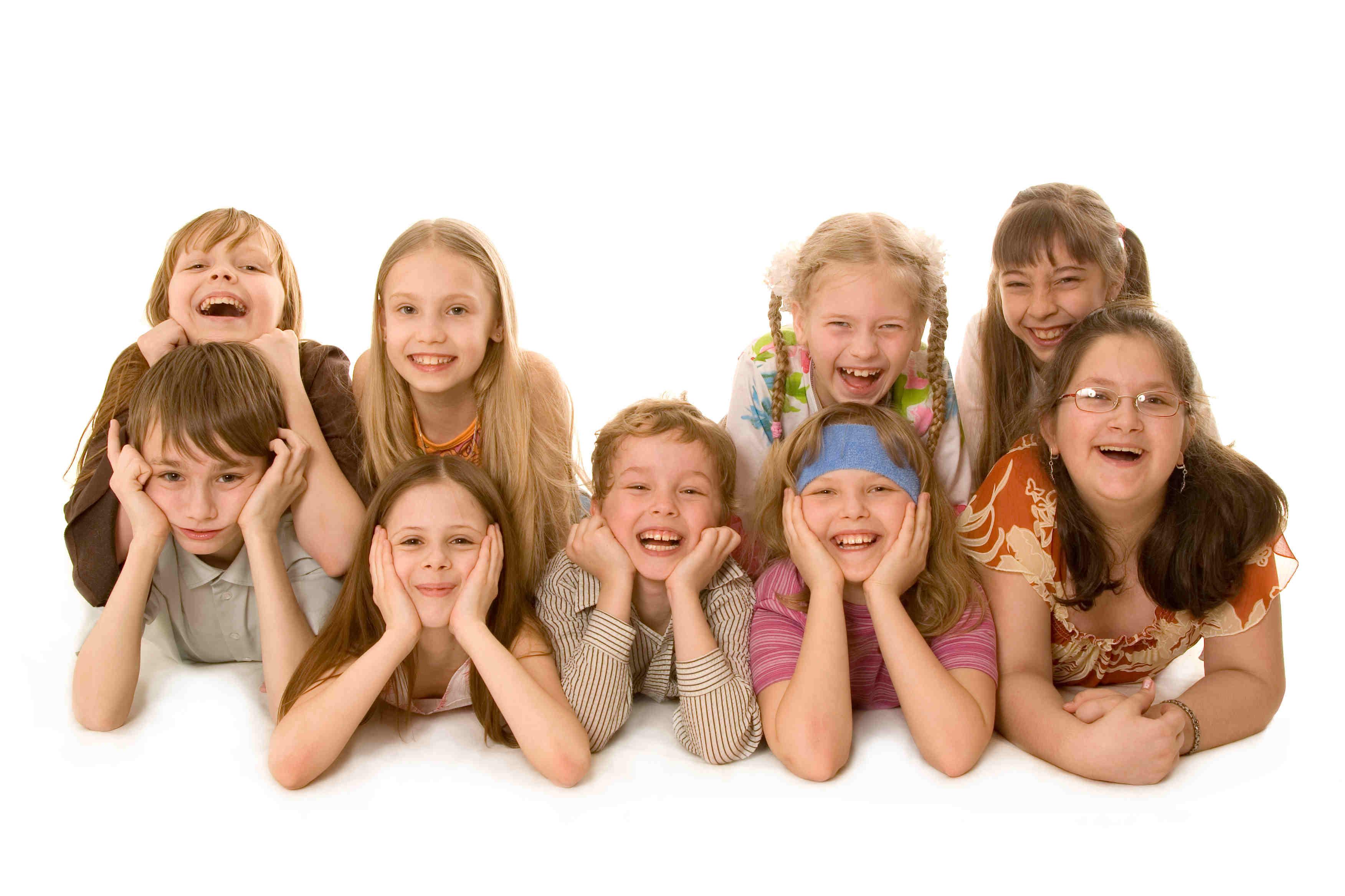 Дети из многодетной семьи