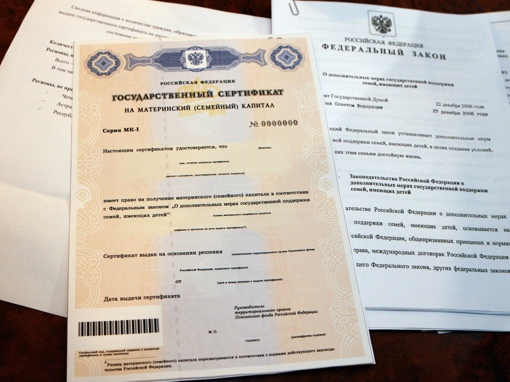 Сертификат на маткапитал за двойню